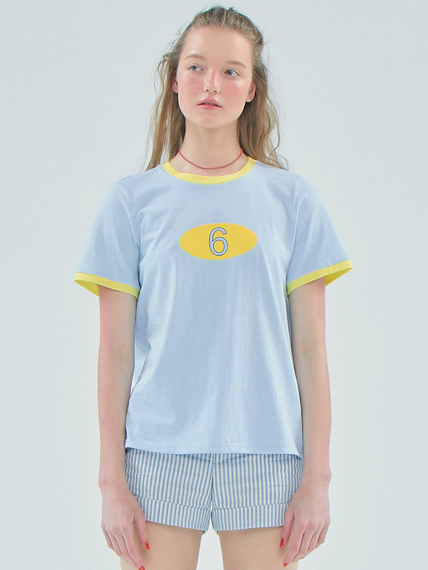 6 Logo T_Light blue