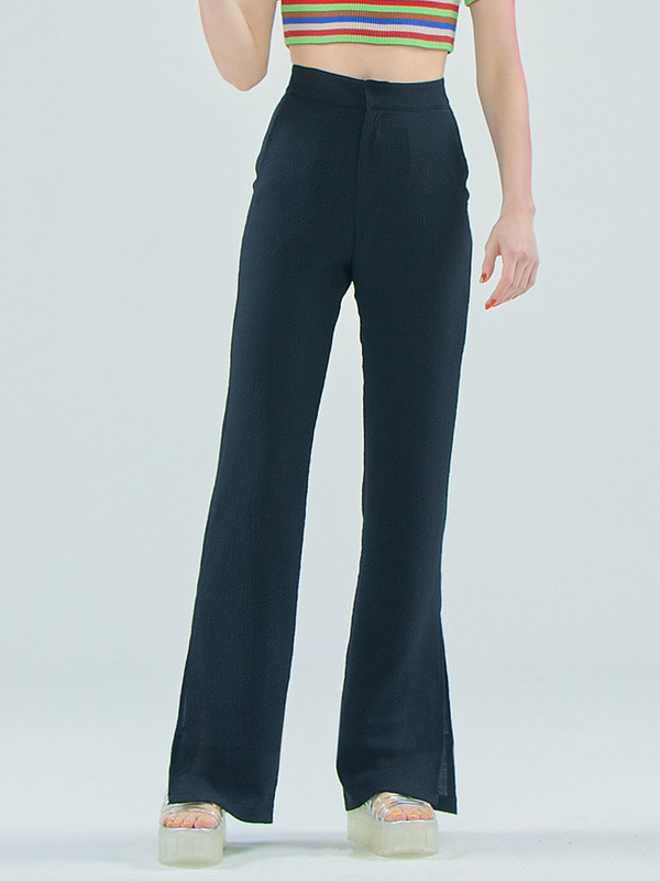 Slim pants / Black
