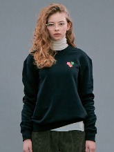 Flower Sweatshirts / Black