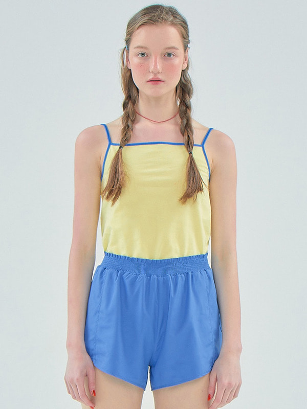 Coloration Sleeveless_Light  yellow