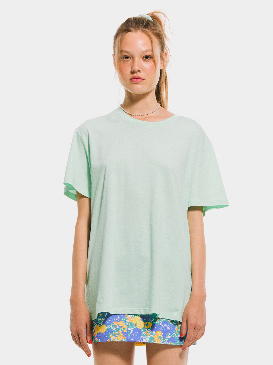 Boxy T shirt_Melon